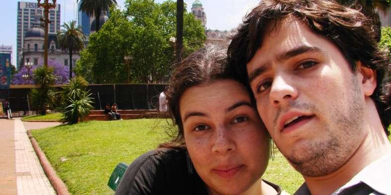 Nossa primeira viagem internacional em 2007