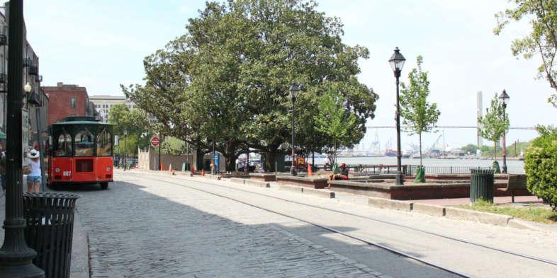 River street e o bonde