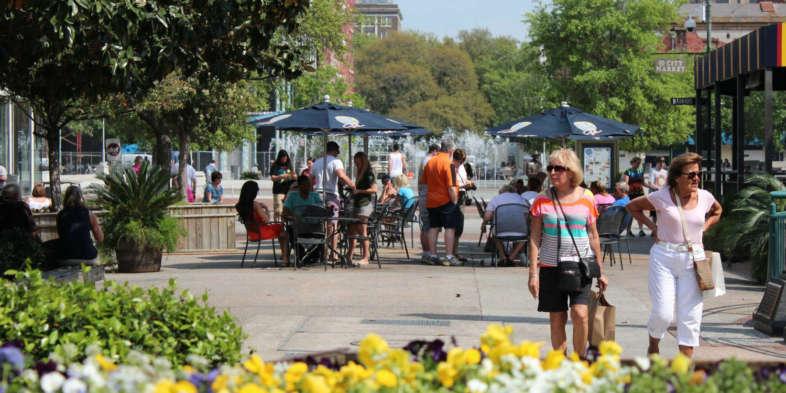 City Market no centro de Savannah