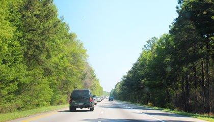 Estrada na Virgínia - Capa