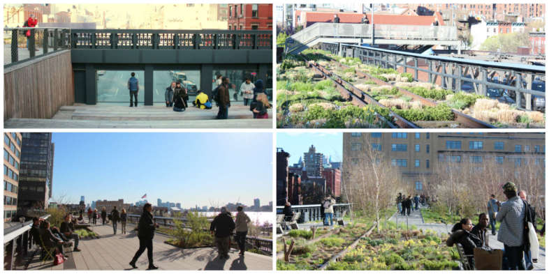 Parque suspenso High Line