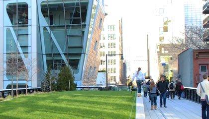 Highline Park em Nova York - Capa