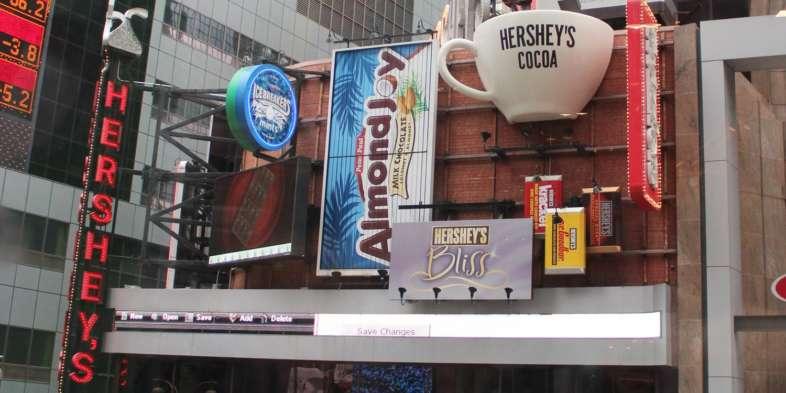 Loja da Hershey's em Nova York
