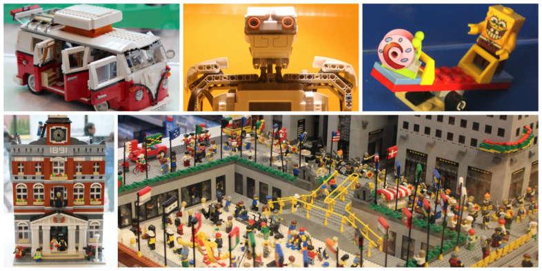 Loja Lego Rockfeller Center