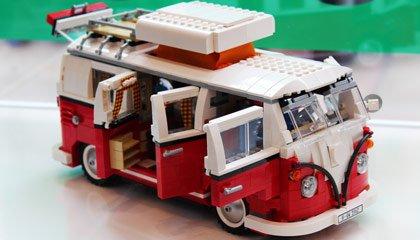 Kombi de LEGO - Capa