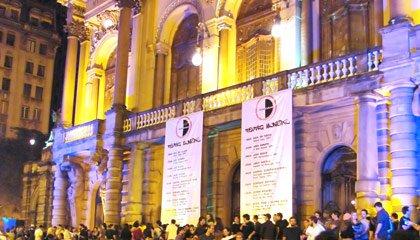 Teatro Municipal na Virada Cultural