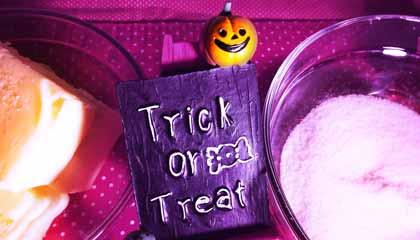 Receita de Halloween de biscoitos amanteigados - Capa