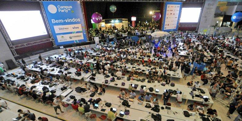 Arena da Campus Party Recife 2012 (Foto de Campus Party Brasil)