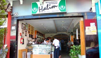 Fachada do Halim, nosso restaurante árabe preferido - Capa