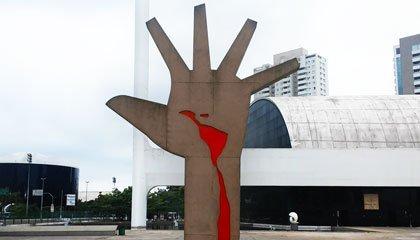 Mão, de Oscar Niemeyer - Capa