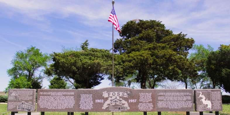 Memorial de Foss, a cidade mais azarada que vimos enquanto percorremos a Rota 66