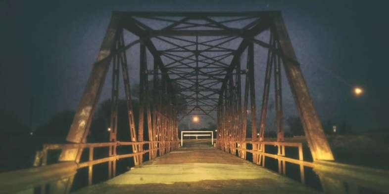 Rock Creek Bridge, em Sapulpa, Oklahoma, ponte dos anos 20 que tem resistido ao tempo