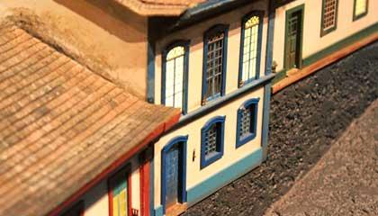 Maquete das cidades históricas do sul de MG no Memorial Minas Gerais Vale - Capa