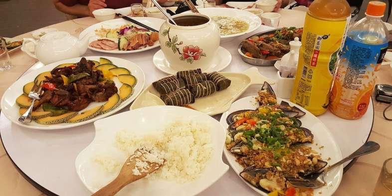 Banquete em Taiwan