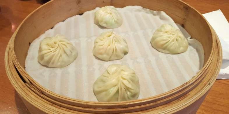 Bolinhos no Din Tai Fung