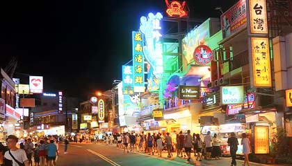 Night Market de Kenting - Capa