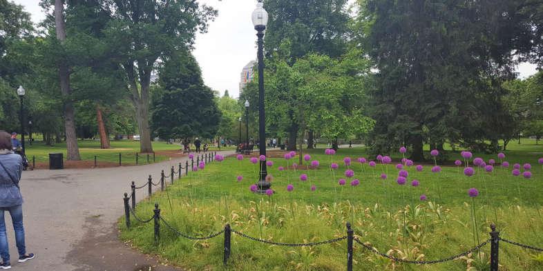 Entrada do Boston Punlic Garden