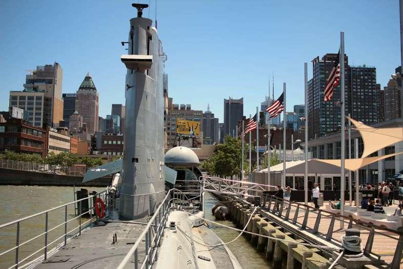 A bordo do U.S.S. Growler, o submarino que você pode visitar no Intrepid