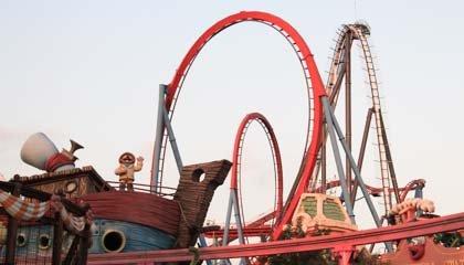 """Capa do post """"PortAventura: o maior parque de diversões da Espanha"""""""