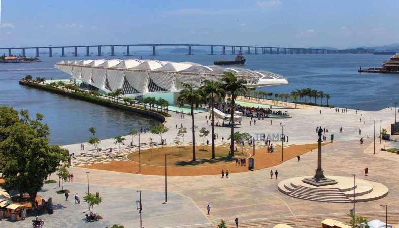 Praça Mauá: local onde se concentram os equipamentos culturais do Boulevard Olímpico a apenas 10 minutos do Belga Hotel